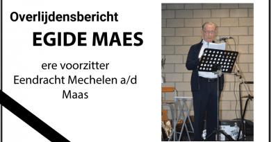overlijden Egide Maes
